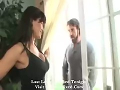 Muscular man gives Lisa Ann the fuck of a lifetime