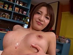Gorgeous Yuria Kiritani Fucked With Sex Toys At A Bar