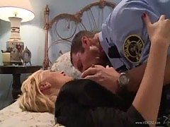 Lexi Swallow lets a cop deep into her twat