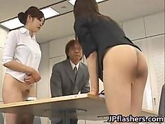 Half Nude Japanese Chicks Showing Off Part1