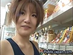 Miku Tanaka Hot Asian Doll Likes Public Part4
