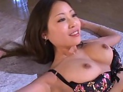 Asian Babe Getting Her Hairy Pussy Screwed