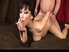 Hot Sexy Asian Smoking Sex