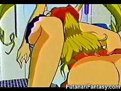 Futanari Cums on Sailor Moon!