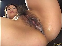 Double Creampie For This Sexy Asian Babe