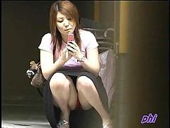 Cute Japanese girls upskirt videos