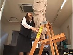 Yuria Sendo gives an Amazing Office Blowjob