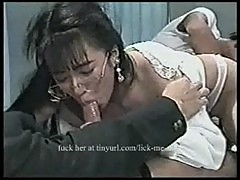Young asian girl forced to suck cock