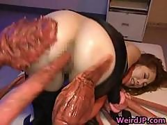 Asami Ogawa Asian Babe Vs The Tentacle Part4