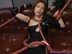 Asami Ogawa Asian Babes Fight Tentacle Part4