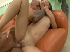 Kita Zen gets her pink asian pussy fucked hard my a massive hard dick