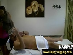 Kiwi ling gives a sensual massage