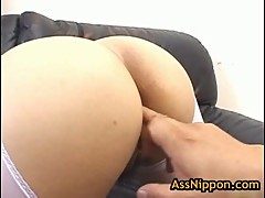 Slut Rei Himekawa finger fucked