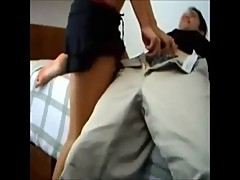 horny sexy girl on homemade video