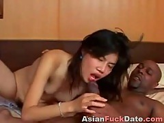 Ebony rod and sweet chinese prostitute