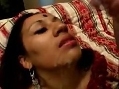 Hot Indian Sweetie Fucked and Jizzed On